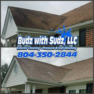 Roof cleaning and pressure washing in Richmond Virginia
