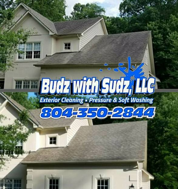 Safe Roof Cleaning in Chesterfield County Virginia